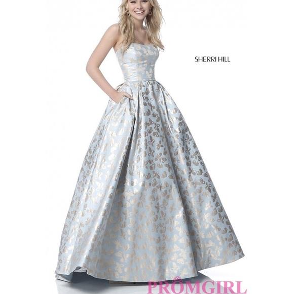 Sherri Hill Prom Dresses Couple